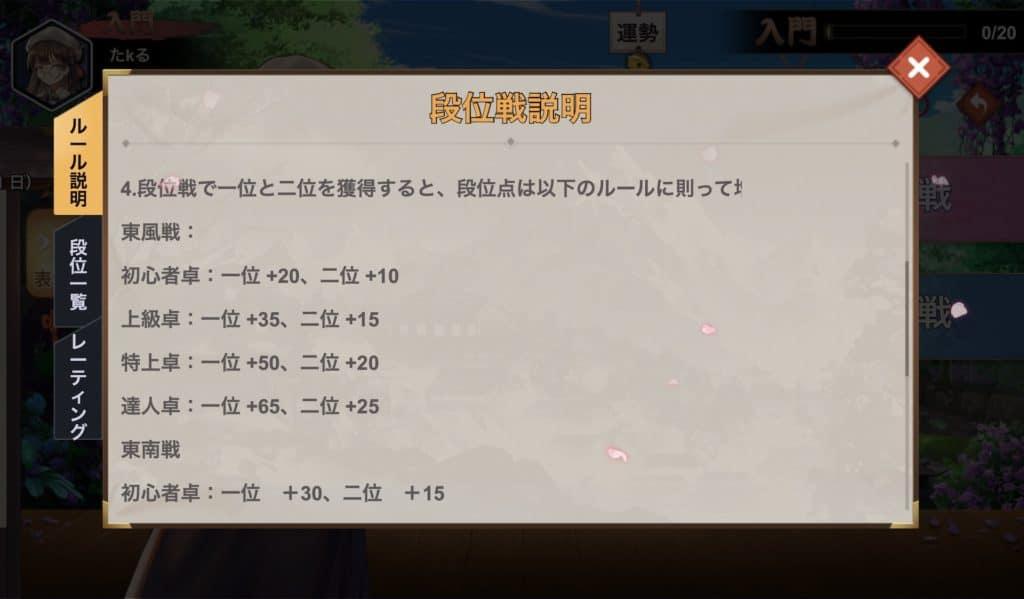 himemahjong-danisen-shoudan